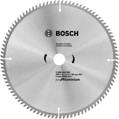 Bosch Optiline Eco Serisi Alüminyum için Daire Testere Bıçağı 305*30 96 Diş