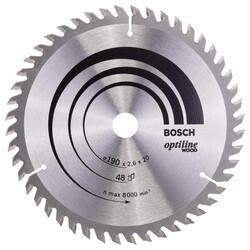 Bosch Optiline Serisi Ahşap için Daire Testere Bıçağı 190*20/16 mm 48 Diş - Thumbnail