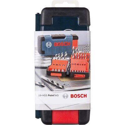 Bosch PointTeQ Matkap Ucu 18parça Set Toughbox BOSCH