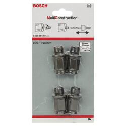 Bosch Power Change Değiştirme Kiti, Speed Serisi Çok Amaçlı Delik Açma Testeresi (Panç) için 4 Parça - Thumbnail