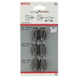 Bosch Power Change Değiştirme Kiti, Yeni Progressor Serisi Delik Açma Testeresi (Panç) için 6 Parça - Thumbnail