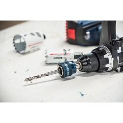 Bosch Power Change Plus Adaptör, Endurance ve Speed Seri Delik Açma Testereleri için HSS-G 105 mm Merkezleme Ucu ve Ø 8.7 mm Şaft Girişli - Thumbnail