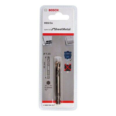 Bosch Power Change Plus Special Serisi Metal Ve Inox Delik Açma Testereleri için Merkezleme Ucu HSS-Co 65 mm BOSCH