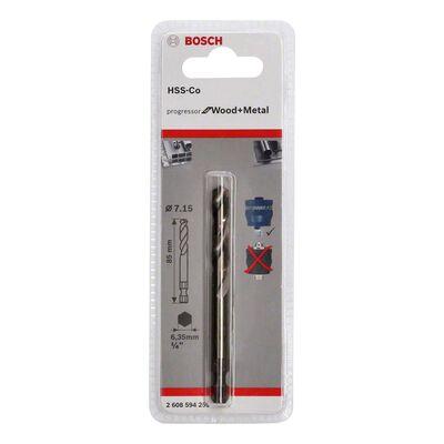 Bosch Power Change Plus Yeni Progressor Serisi Delik Açma Testereleri için HSS-Co Merkezleme Ucu 85 mm BOSCH