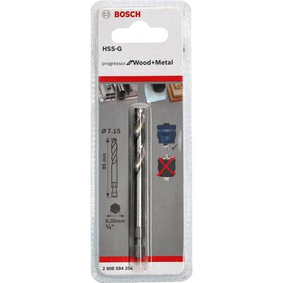 Bosch Power Change Plus Yeni Progressor Serisi için HSS-G Merkezleme Ucu 85 mm BOSCH