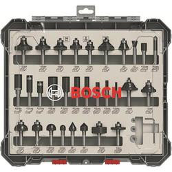 Bosch Profesyonel 30 Parça Karışık Freze Ucu Seti 8 mm Şaftlı - Thumbnail