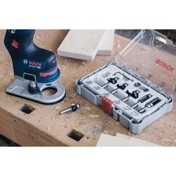 Bosch Profesyonel 6 Parça Düz Freze Ucu Seti 8 mm Şaftlı - Thumbnail