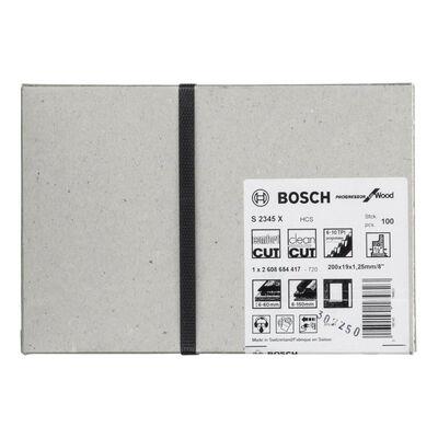 Bosch Progressor Serisi Ahşap için Panter Testere Bıçağı S 2345 X - 100'lü BOSCH