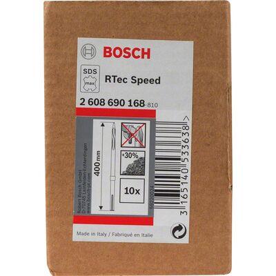 Bosch Rtec Serisi, SDS-Max Şaftlı Sivri Keski 400 mm 10'lu BOSCH