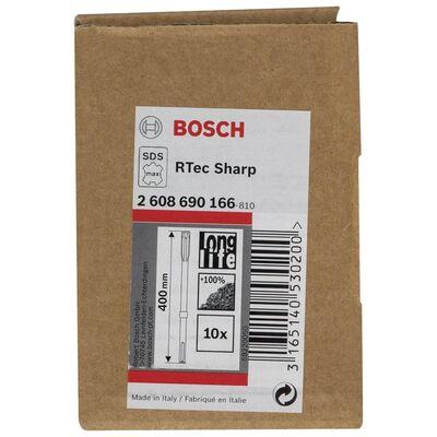 Bosch Rtec Serisi, SDS-Max Şaftlı Yassı Keski 400*25 mm 10'lu BOSCH