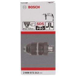 Bosch SDS-Plus - 1,5-13 mm Mandren GBH 2-26DFR - Thumbnail
