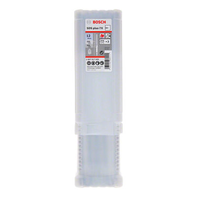 Bosch SDS-Plus-7X Serisi Kırıcı Delici Matkap Ucu 12*265 mm 30'lu BOSCH
