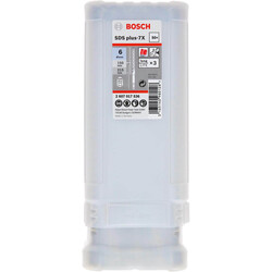 Bosch SDS-Plus-7X Serisi Kırıcı Delici Matkap Ucu 6*165 mm 50'li - Thumbnail