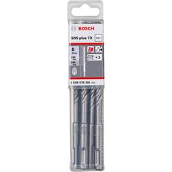 Bosch SDS-Plus-7X Serisi Kırıcı Delici Matkap Ucu 8*165 mm 10'lu - Thumbnail