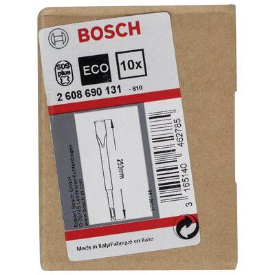 Bosch SDS-Plus Şaftlı Yassı Keski 250*20 mm 10'lu BOSCH
