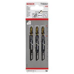 Bosch Seramik İçin Özel T 150 RIFF Dekupaj Testeresi Bıçağı - 3'Lü Paket - Thumbnail