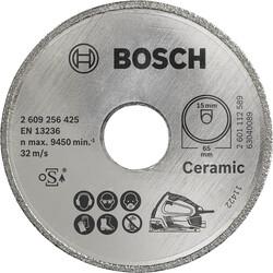 Bosch Seramik İçin PKS 16 Multi Uyumlu Elmas Kesme Diski 65 x 15mm - Thumbnail