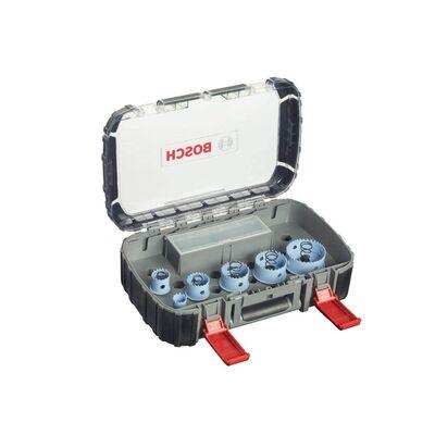 Bosch Special Serisi Metal ve Inox Malzemeler için, 9 Parçalı Delik Açma Testeresi (Panç) Seti Ø 20-25-32-38-51-64 mm