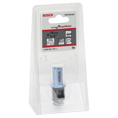 Bosch Special Serisi Metal Ve Inox Malzemeler için Delik Açma Testeresi (Panç) 16 mm BOSCH