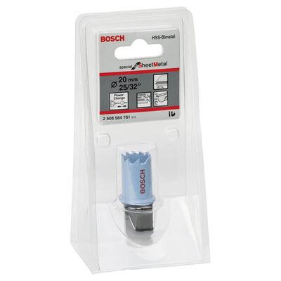 Bosch Special Serisi Metal Ve Inox Malzemeler için Delik Açma Testeresi (Panç) 20 mm BOSCH
