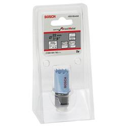 Bosch Special Serisi Metal Ve Inox Malzemeler için Delik Açma Testeresi (Panç) 22 mm - Thumbnail