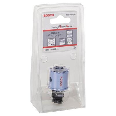 Bosch Special Serisi Metal Ve Inox Malzemeler için Delik Açma Testeresi (Panç) 30 mm BOSCH