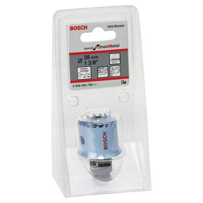 Bosch Special Serisi Metal Ve Inox Malzemeler için Delik Açma Testeresi (Panç) 35 mm BOSCH