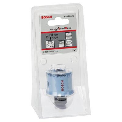Bosch Special Serisi Metal Ve Inox Malzemeler için Delik Açma Testeresi (Panç) 38 mm BOSCH