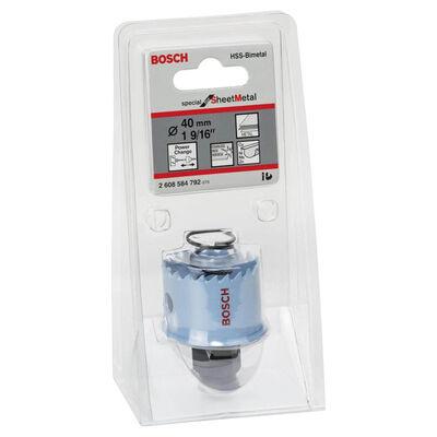 Bosch Special Serisi Metal Ve Inox Malzemeler için Delik Açma Testeresi (Panç) 40 mm BOSCH