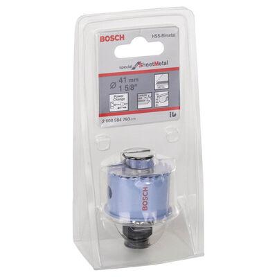 Bosch Special Serisi Metal Ve Inox Malzemeler için Delik Açma Testeresi (Panç) 41 mm BOSCH