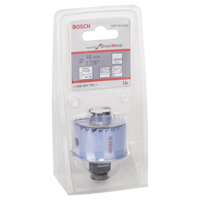 Bosch Special Serisi Metal Ve Inox Malzemeler için Delik Açma Testeresi (Panç) 48 mm BOSCH