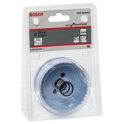Bosch Special Serisi Metal Ve Inox Malzemeler için Delik Açma Testeresi (Panç) 70 mm BOSCH