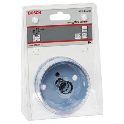 Bosch Special Serisi Metal Ve Inox Malzemeler için Delik Açma Testeresi (Panç) 76 mm BOSCH