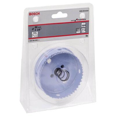 Bosch Special Serisi Metal Ve Inox Malzemeler için Delik Açma Testeresi (Panç) 86 mm BOSCH