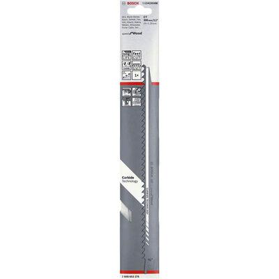 Bosch Speed for Serisi Ahşap için Panter Testere Bıçağı S 1242 KHM 1'li BOSCH