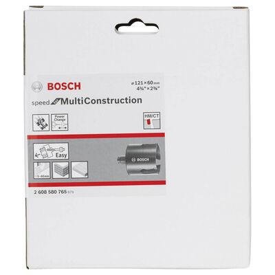 Bosch Speed Serisi Çoklu Malzeme için Delik Açma Testeresi (Panç) 121 mm BOSCH