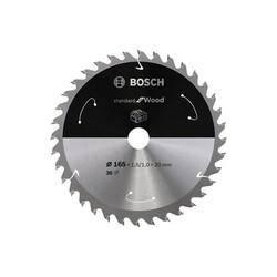 Bosch Standard for Serisi Ahşap için Akülü Daire Testere Bıçağı 165*20 mm 36 Diş - Thumbnail