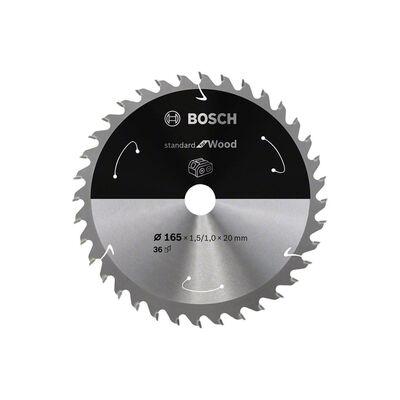Bosch Standard for Serisi Ahşap için Akülü Daire Testere Bıçağı 165*20 mm 36 Diş