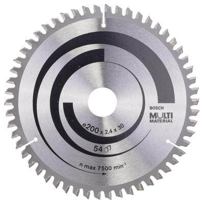 Bosch Standard for Serisi Çoklu Malzeme için Daire Testere Bıçağı 200*30 mm 54 Diş