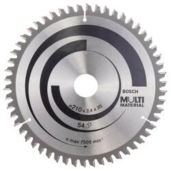 Bosch Standard for Serisi Çoklu Malzeme için Daire Testere Bıçağı 210*30 mm 54 Diş - Thumbnail