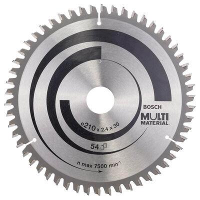 Bosch Standard for Serisi Çoklu Malzeme için Daire Testere Bıçağı 210*30 mm 54 Diş