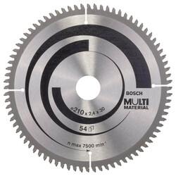 Bosch Standard for Serisi Çoklu Malzeme için Daire Testere Bıçağı 210*30 mm 80 Diş - Thumbnail