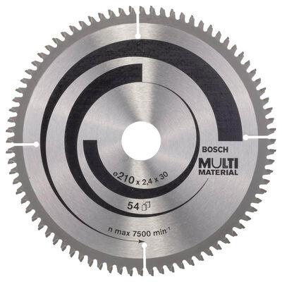 Bosch Standard for Serisi Çoklu Malzeme için Daire Testere Bıçağı 210*30 mm 80 Diş