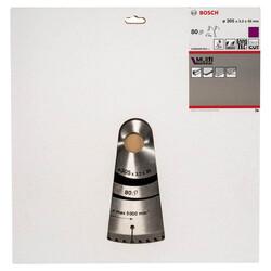 Bosch Standard for Serisi Çoklu Malzeme için Daire Testere Bıçağı 305*30 mm 80 Diş - Thumbnail