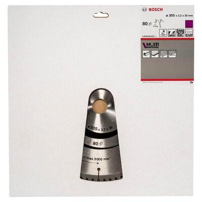 Bosch Standard for Serisi Çoklu Malzeme için Daire Testere Bıçağı 305*30 mm 80 Diş BOSCH