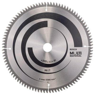 Bosch Standard for Serisi Çoklu Malzeme için Daire Testere Bıçağı 305*30 mm 96 Diş