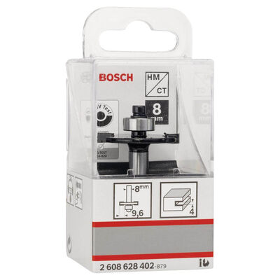 Bosch Standard Seri Ahşap İçin Çift Oluklu, Sert Metal Bilya Yataklı Diskli Kanal Frezesi 8*32*4*51 mm BOSCH