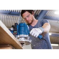 Bosch Standard Seri Ahşap İçin Çift Oluklu, Sert Metal Bilya Yataklı Yuvarlama Frezesi 12*12*70 mm - Thumbnail