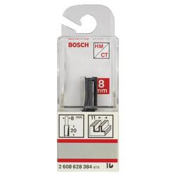 Bosch Standard Seri Ahşap İçin Çift Oluklu, Sert Metal Düz Freze Ucu 8*11*51mm - Thumbnail