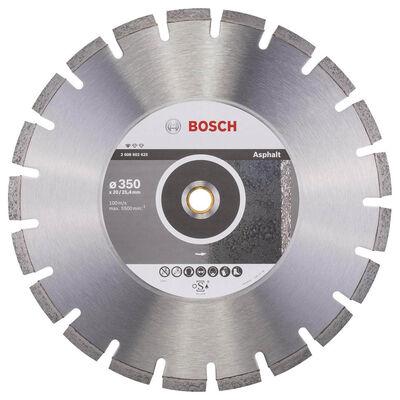 Bosch Standard Seri Asfalt İçin Elmas Kesme Diski 350 mm
